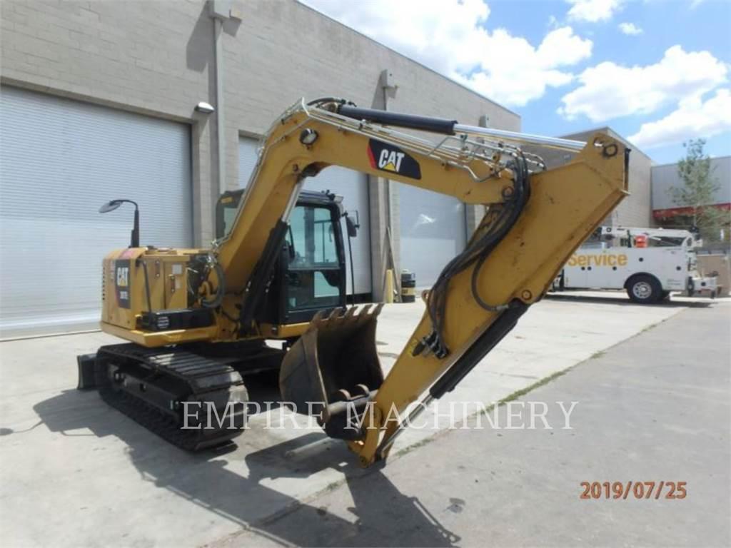 Caterpillar 307E2、クローラー式油圧ショベル(パワーショベル・ユンボ)、建設