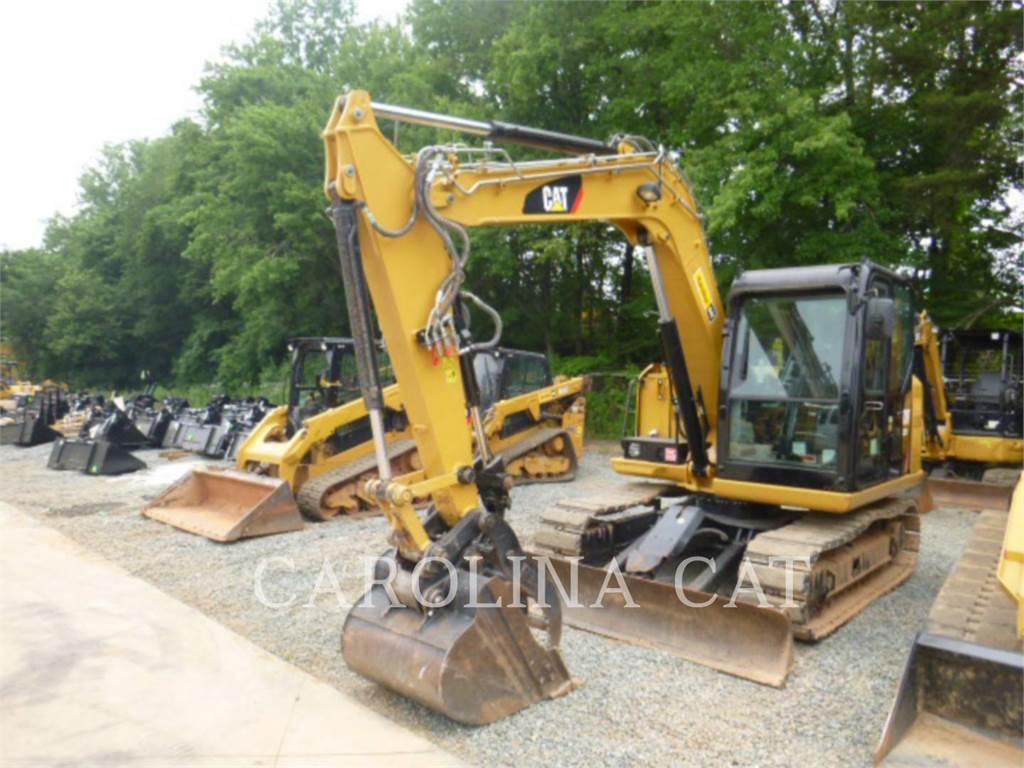 Caterpillar 307E2CRTHQ, Excavatoare pe senile, Constructii