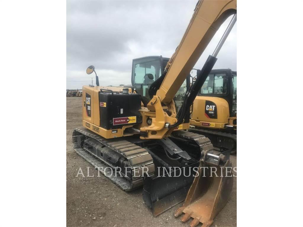 Caterpillar 308-07, Excavadoras de cadenas, Construcción