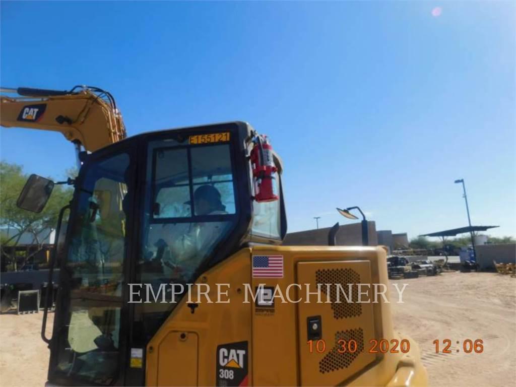 Caterpillar 308-07、大型油圧ショベル12t以上(パワーショベル・ユンボ)、建設