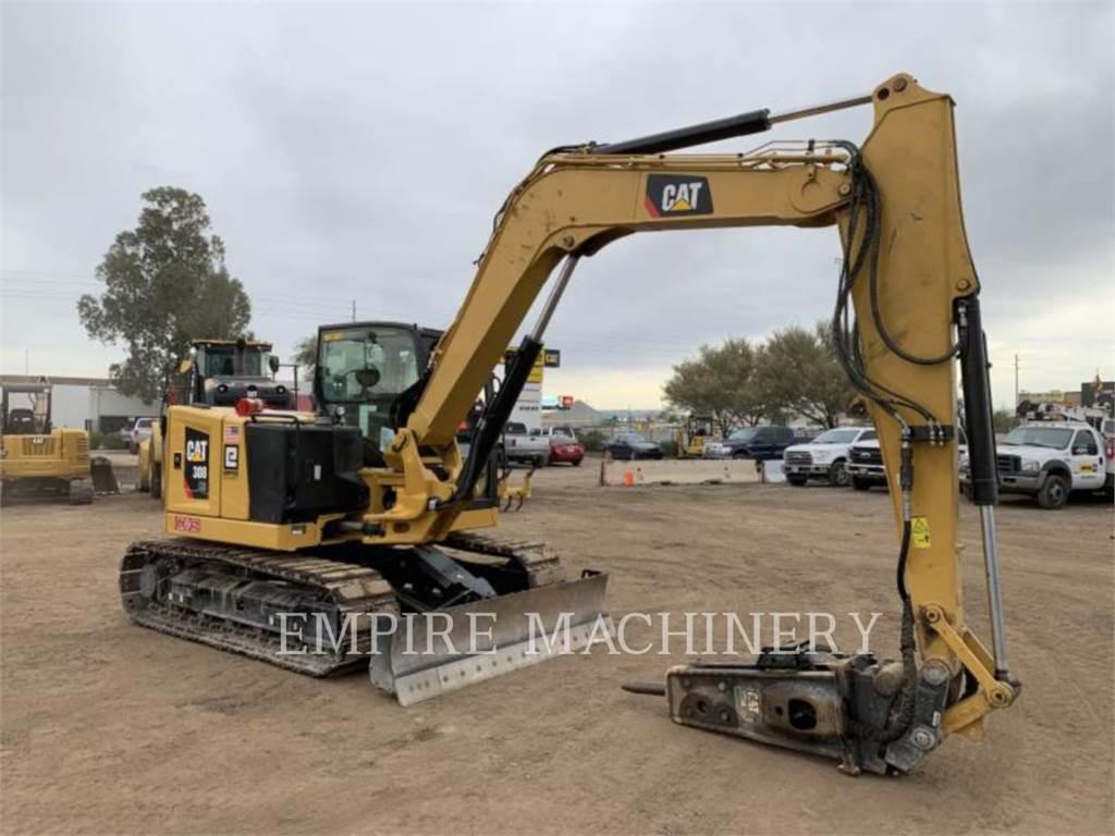 Caterpillar 308-07 SB, Pelle sur chenilles, Équipement De Construction