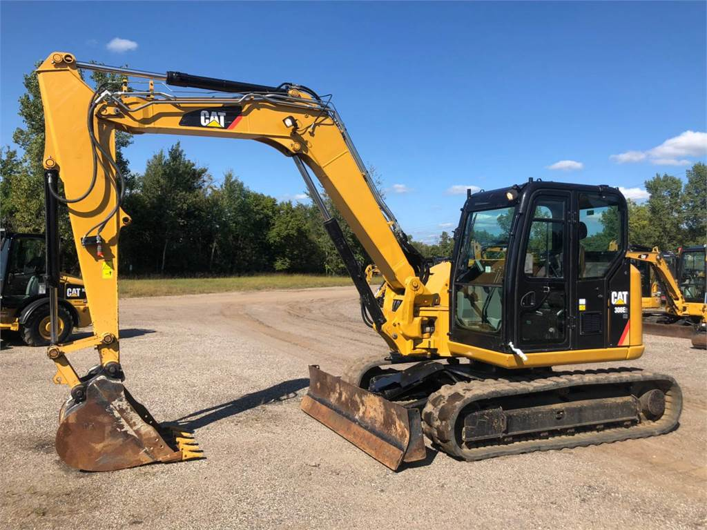 Caterpillar 308 E2 CR SB, Crawler Excavators, Construction