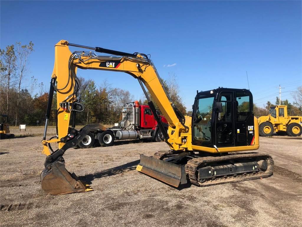 Caterpillar 308 E2 CR SB, Crawler Excavators, Construction