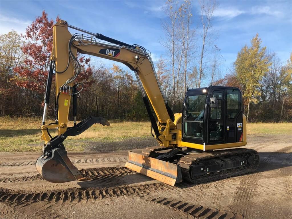 Caterpillar 308 E2 CR SB、履带挖掘机、建筑设备