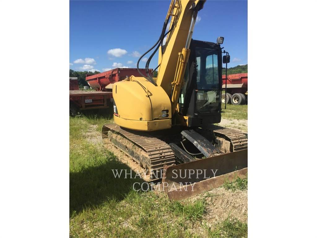 Caterpillar 308CCR、クローラー式油圧ショベル(パワーショベル・ユンボ)、建設