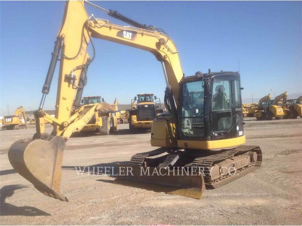 Caterpillar 308DCR、クローラー式油圧ショベル(パワーショベル・ユンボ)、建設