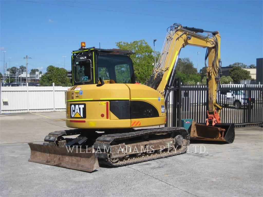 Caterpillar 308DCRSB, Excavadoras de cadenas, Construcción