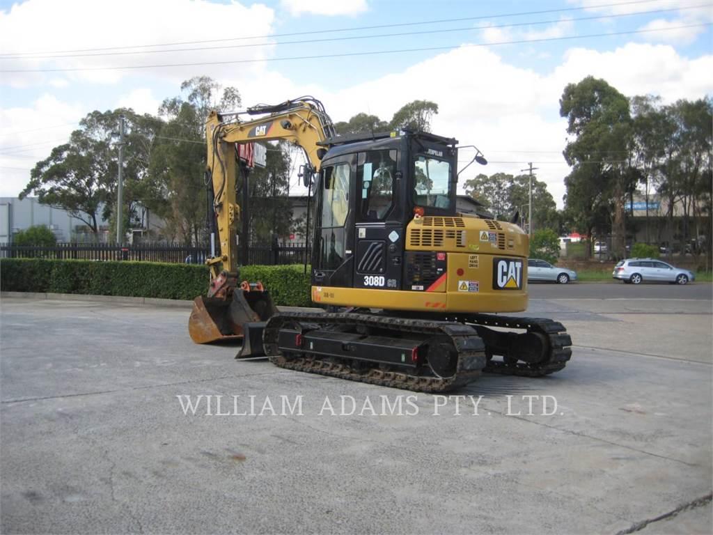 Caterpillar 308DCRSB, Crawler Excavators, Construction