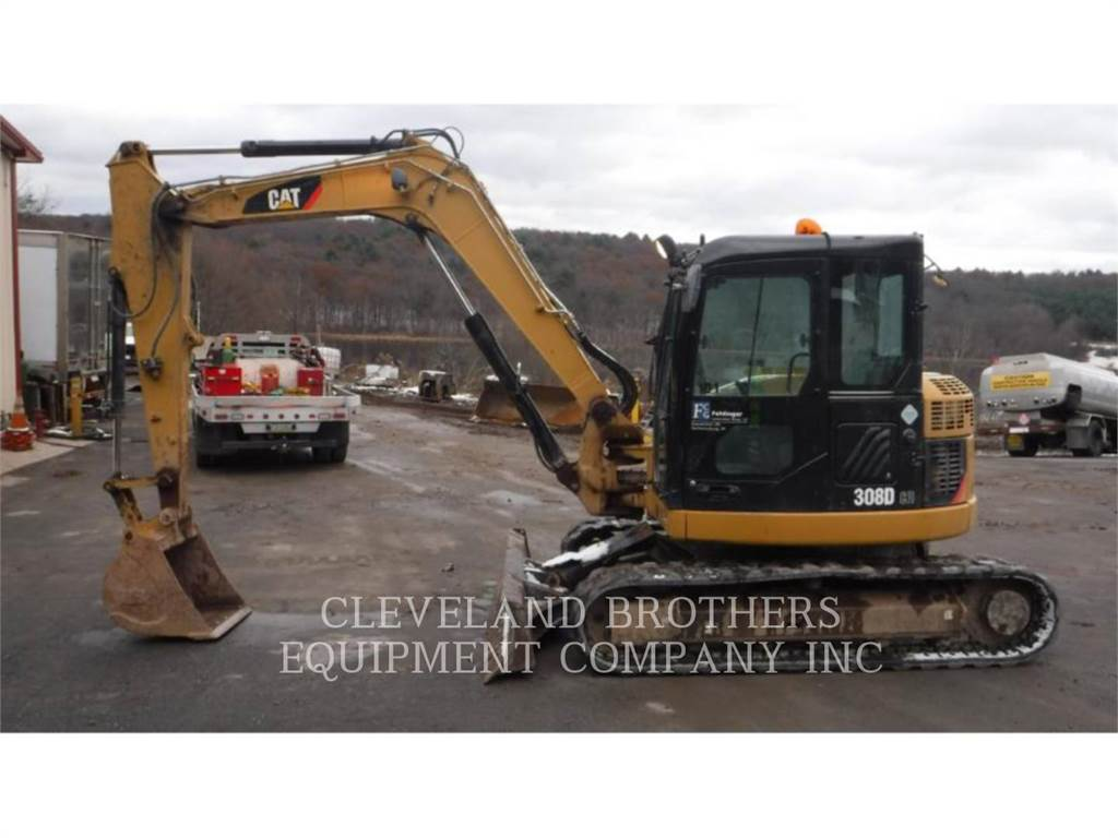 Caterpillar 308DCRSB, Crawler Excavators, Construction