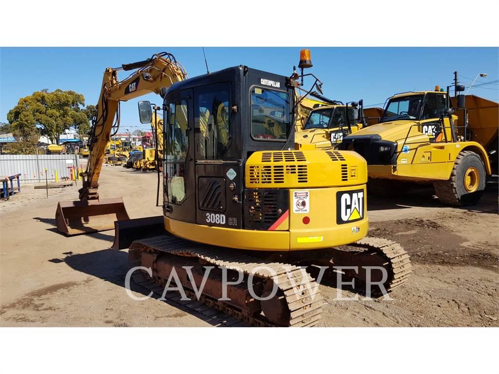 Caterpillar 308DCRSB, Excavatoare pe senile, Constructii