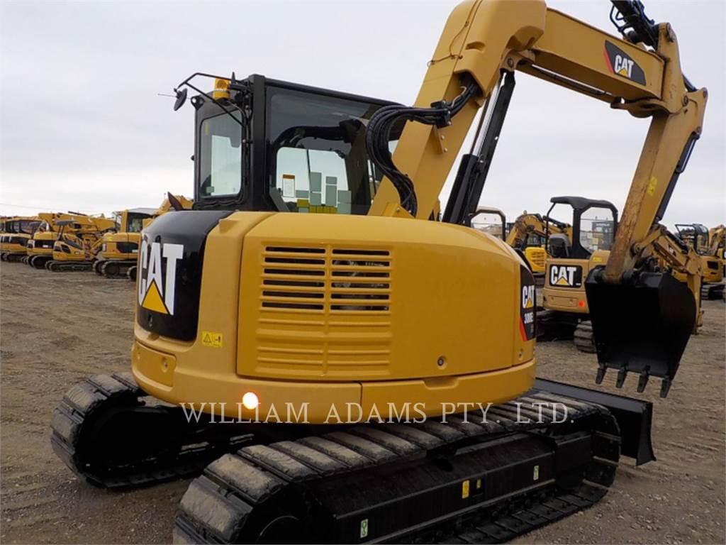Caterpillar 308E, Excavadoras de cadenas, Construcción