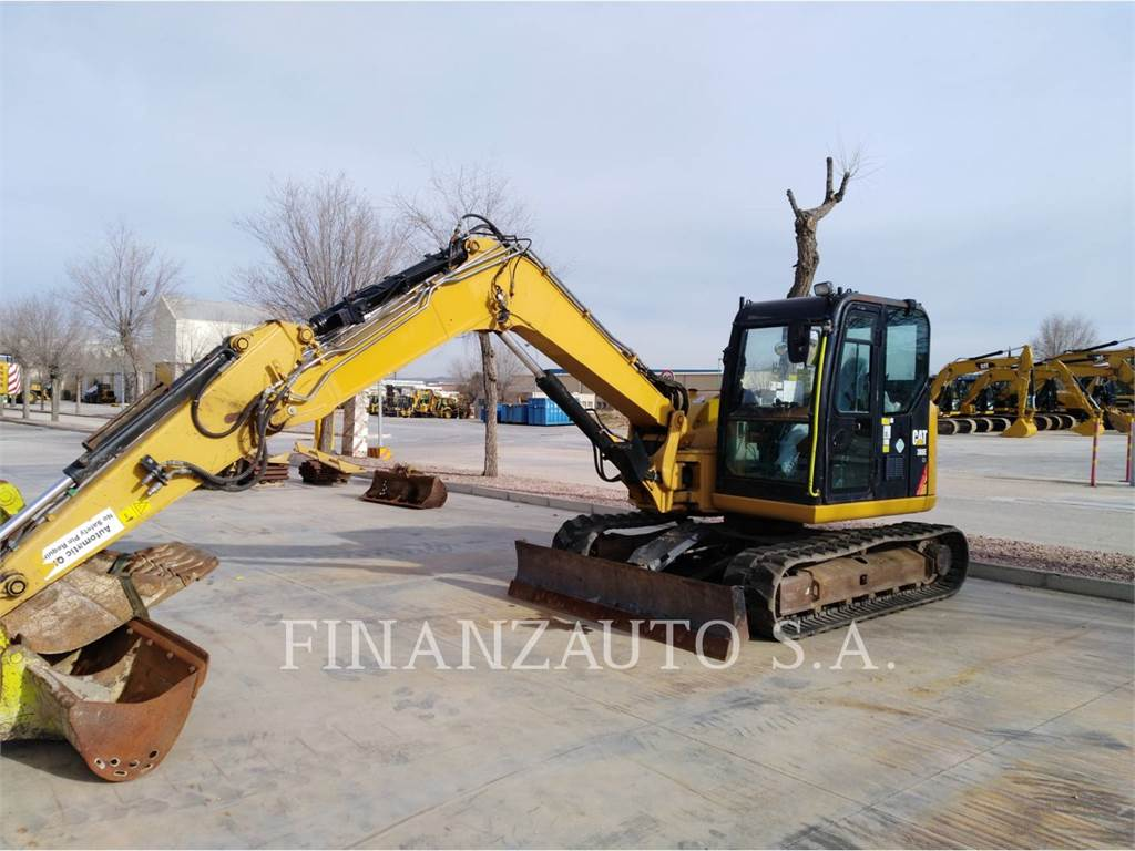 Caterpillar 308E, Raupenbagger, Bau-Und Bergbauausrüstung