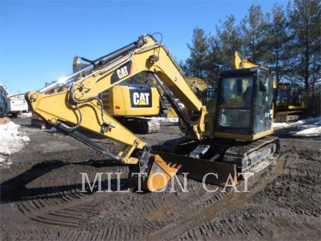 Caterpillar 308E CRMA2、クローラー式油圧ショベル(パワーショベル・ユンボ)、建設