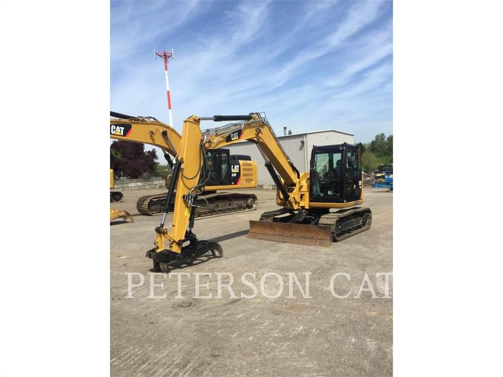 Caterpillar 308E2, Crawler Excavators, Construction