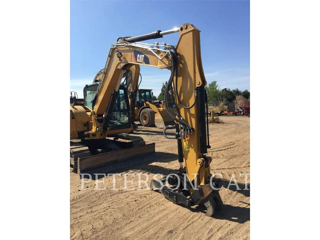 Caterpillar 308E2, Crawler Excavators, Construction
