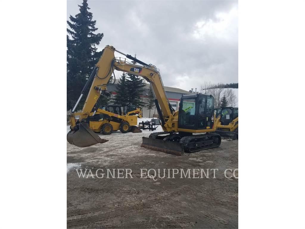 Caterpillar 308E2, Escavadoras de rastos, Equipamentos Construção