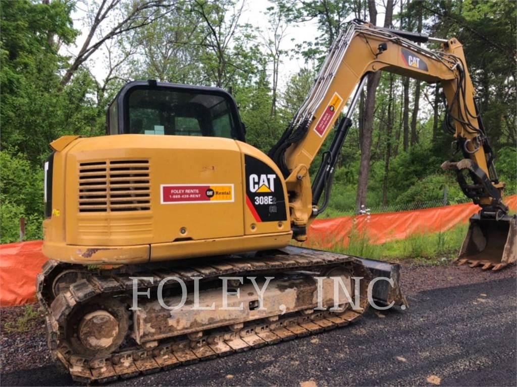 Caterpillar 308E2, Koparki gąsienicowe, Sprzęt budowlany