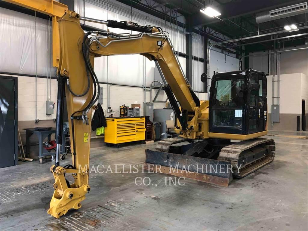 Caterpillar 308E2、クローラー式油圧ショベル(パワーショベル・ユンボ)、建設