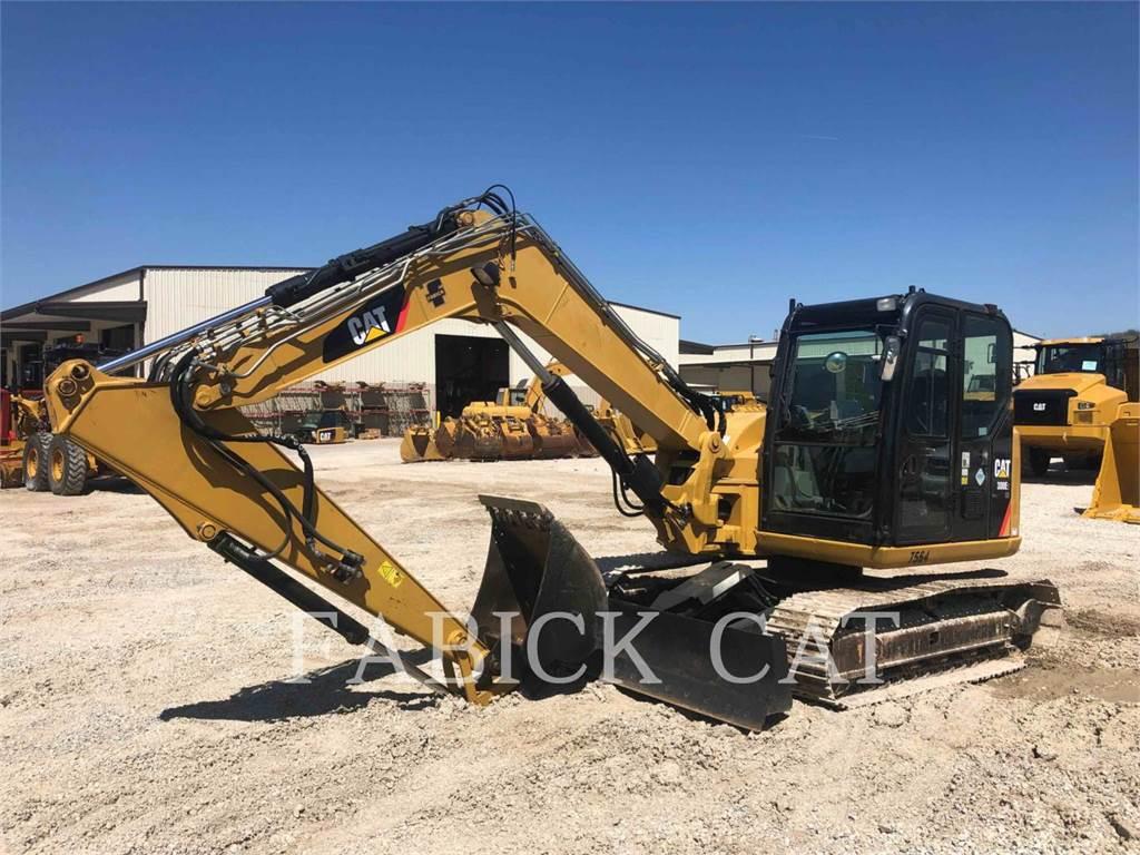 Caterpillar 308E2, Excavadoras de cadenas, Construcción