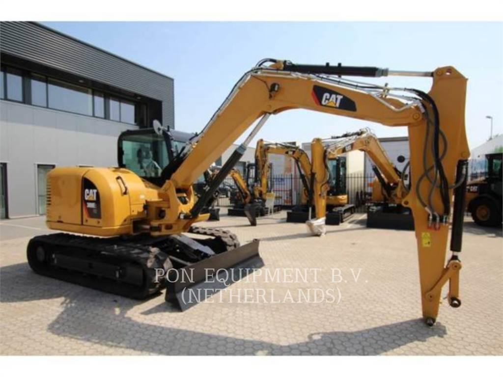 Caterpillar 308E2 CR, Crawler Excavators, Construction