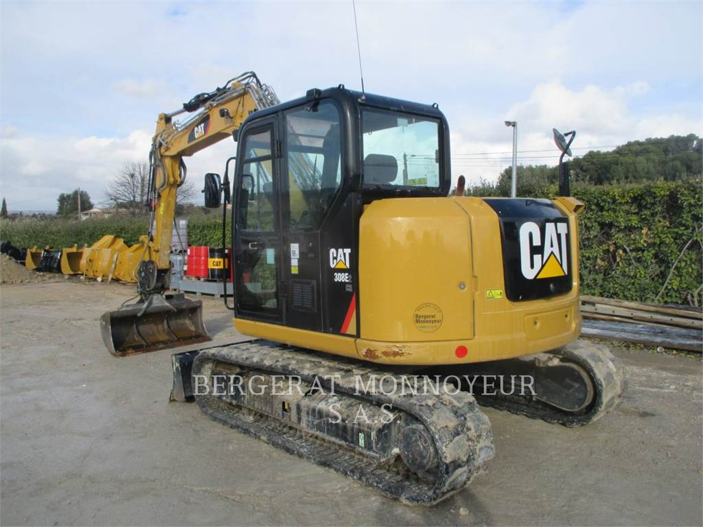 Caterpillar 308E2 CR, Crawler Excavators, Construction