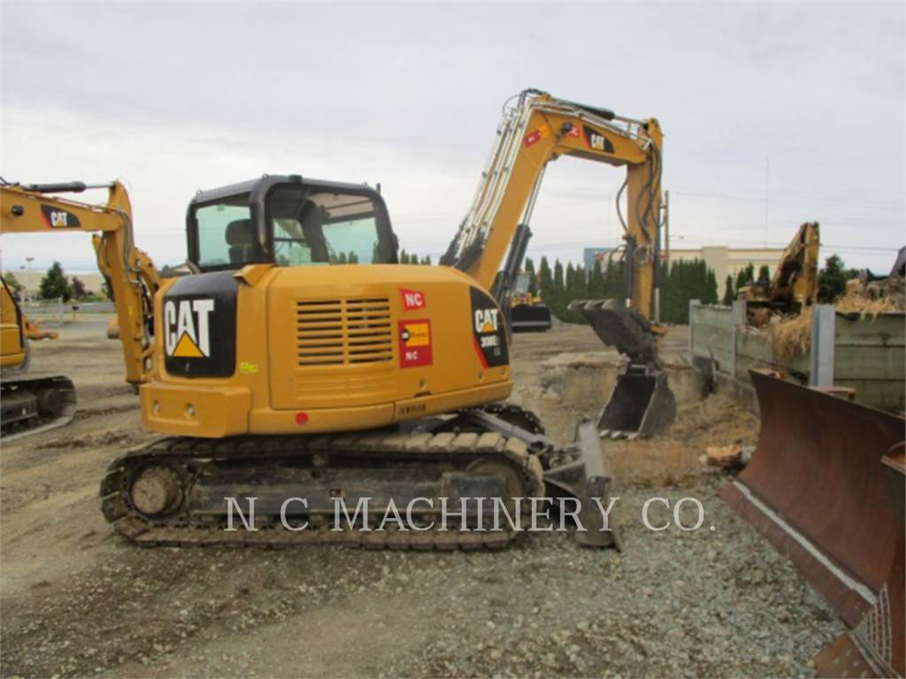 Caterpillar 308E2 CRCB, Crawler Excavators, Construction