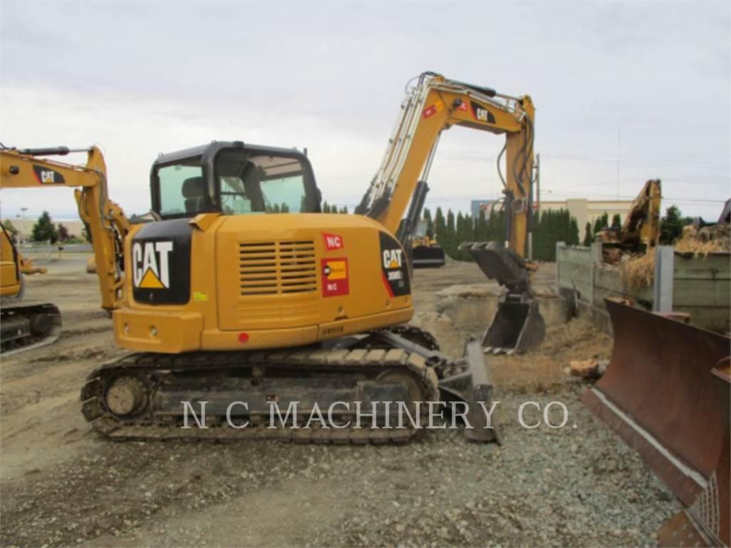 Caterpillar 308E2 CRCB, Koparki gąsienicowe, Sprzęt budowlany