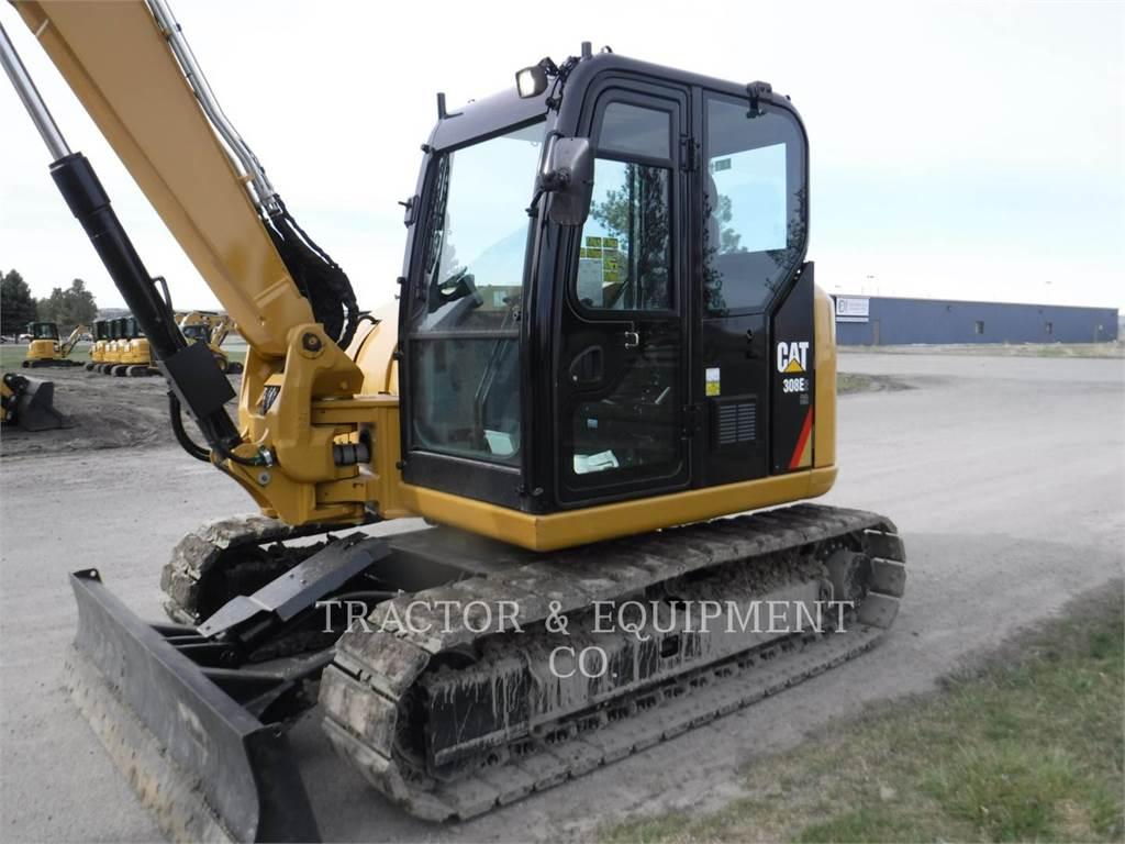 Caterpillar 308E2 CRCB, Escavatori cingolati, Attrezzature Da Costruzione