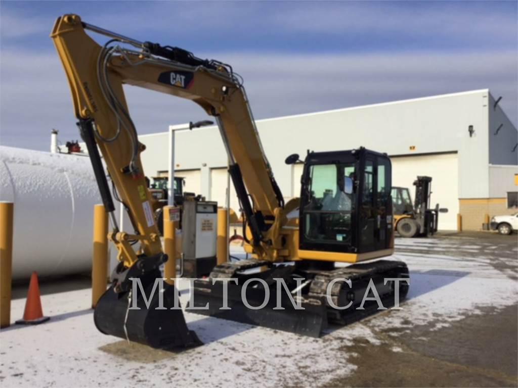 Caterpillar 308E2 CRSB、クローラー式油圧ショベル(パワーショベル・ユンボ)、建設