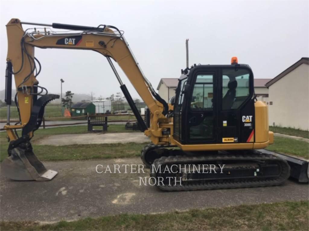 Caterpillar 308E2 CRSB, Гусеничные экскаваторы, Строительное