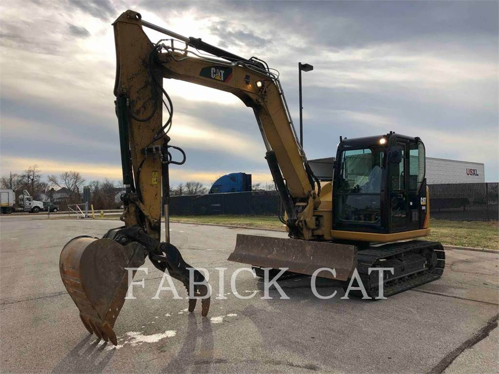 Caterpillar 308E2 HT, Crawler Excavators, Construction