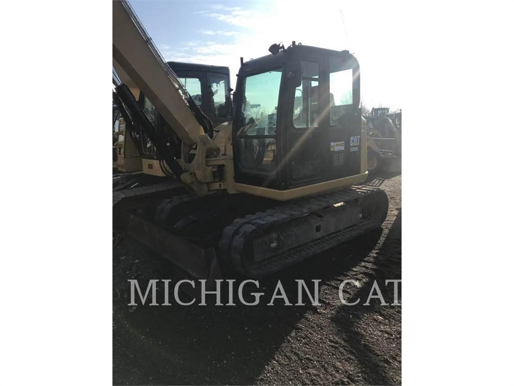Caterpillar 308E2 Q, Crawler Excavators, Construction