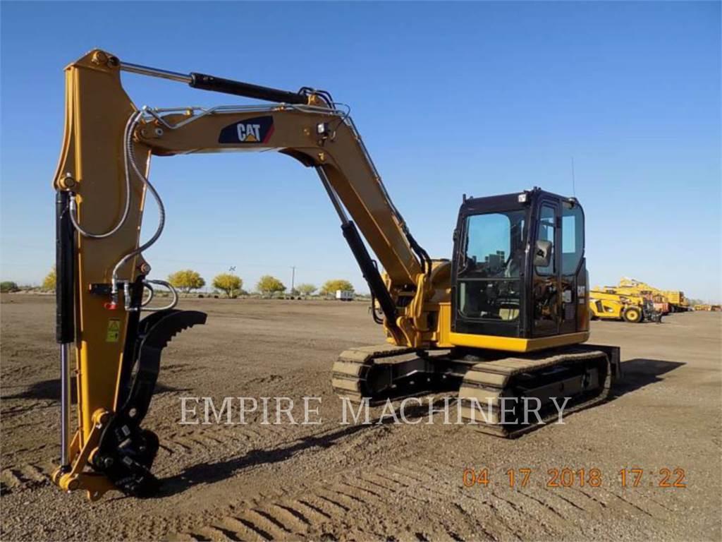 Caterpillar 308E2 SB, Crawler Excavators, Construction