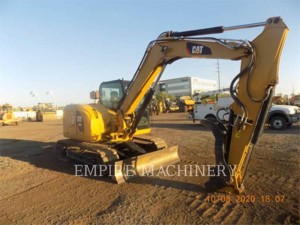 Caterpillar 308E2 SB, Excavatoare pe senile, Constructii
