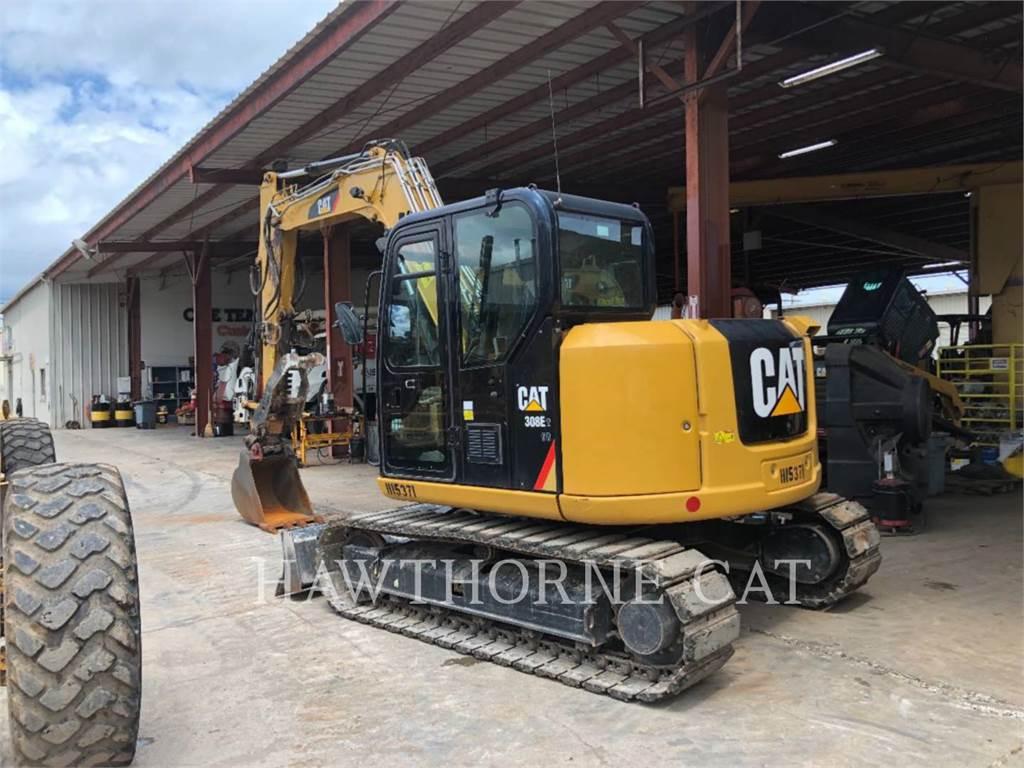 Caterpillar 308E2 TH, Crawler Excavators, Construction