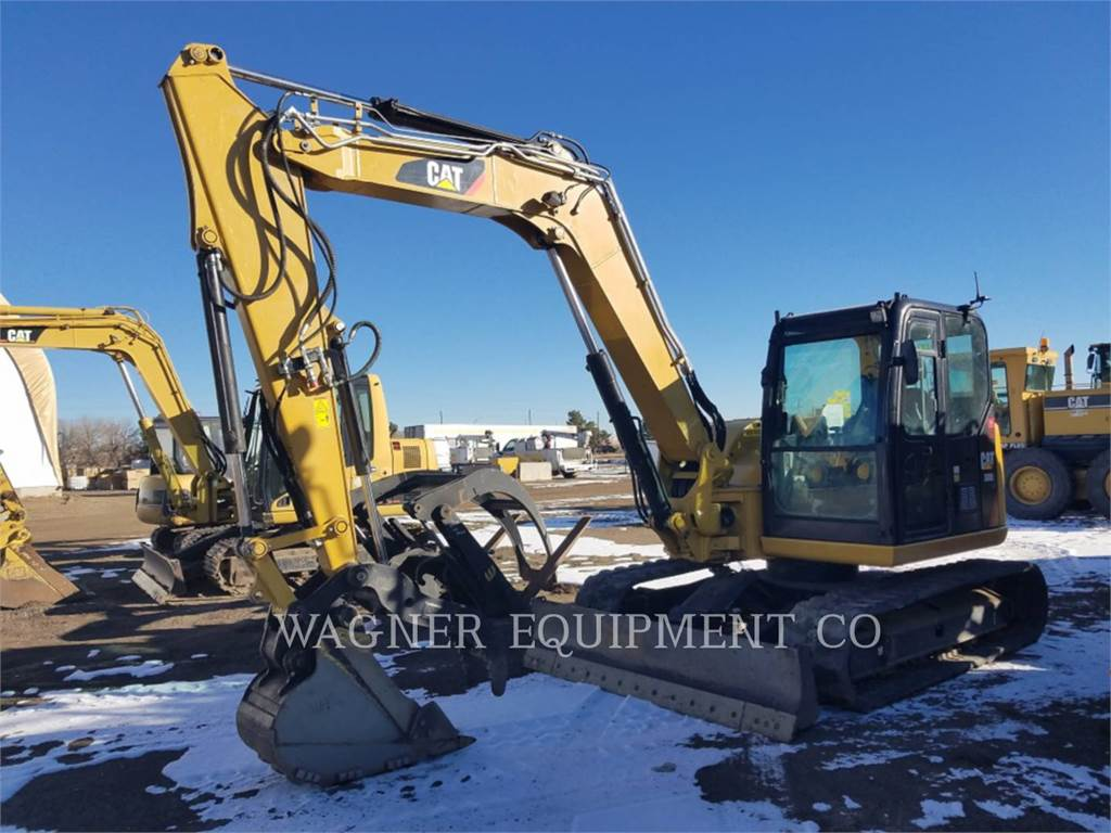 Caterpillar 308E2 THB, Crawler Excavators, Construction