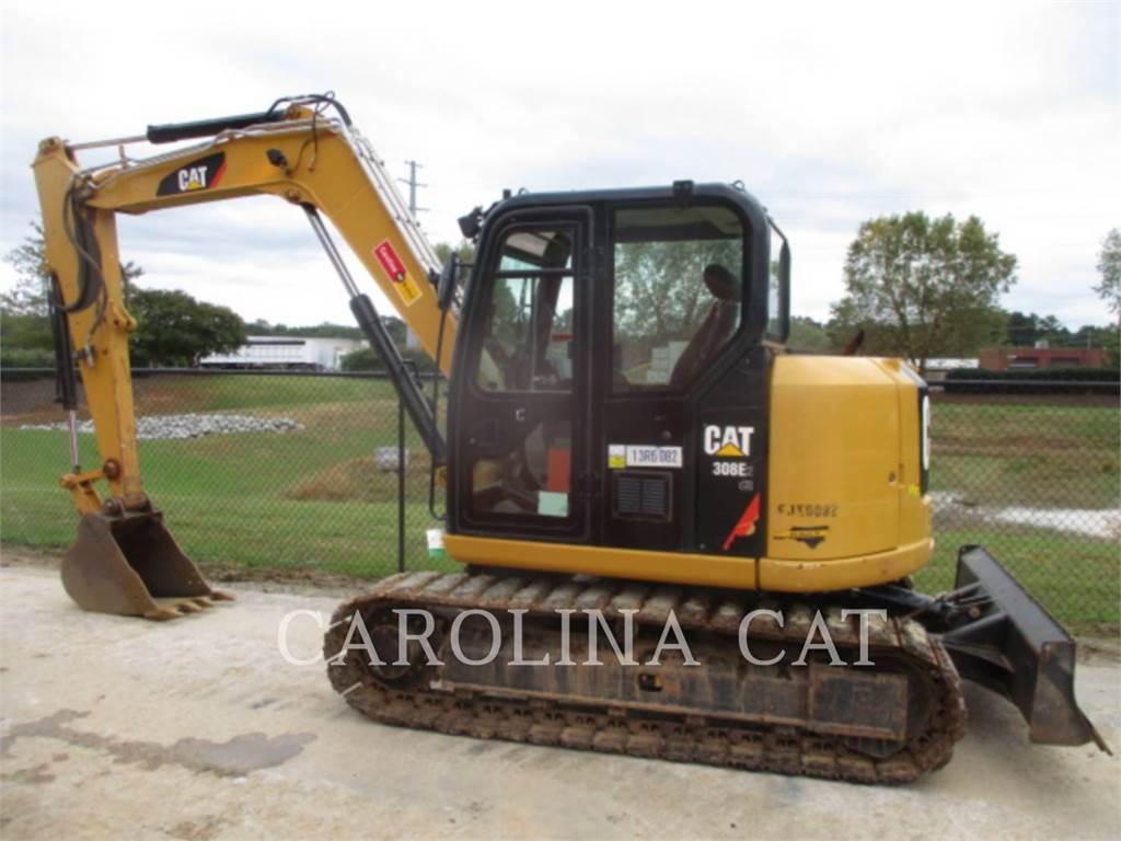 Caterpillar 308E2CR, Koparki gąsienicowe, Sprzęt budowlany