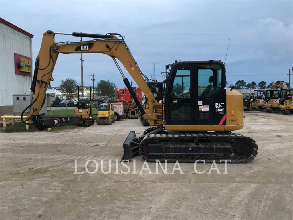 Caterpillar 308E2CR SB, Crawler Excavators, Construction