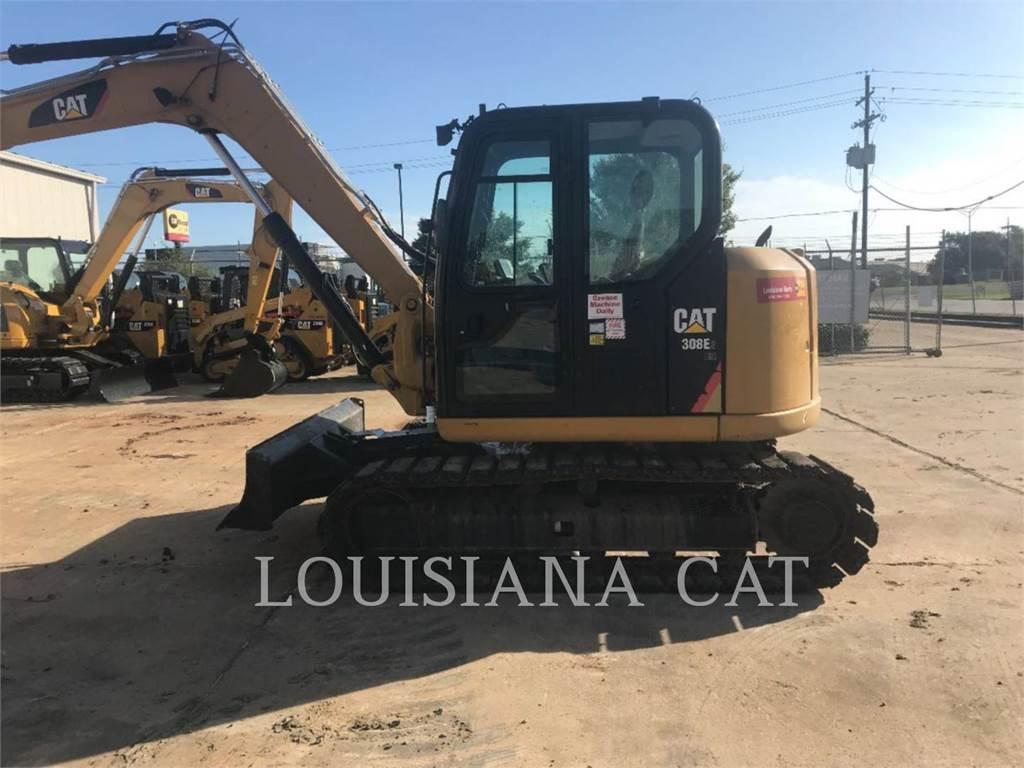 Caterpillar 308E2CR SB, Excavatoare pe senile, Constructii