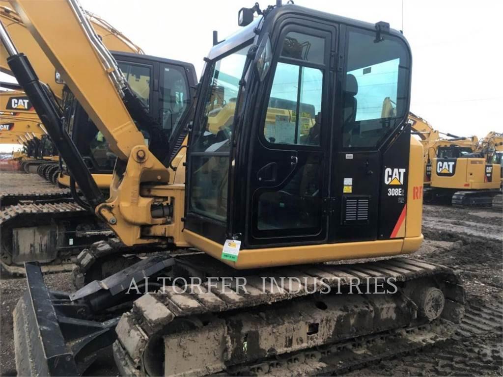 Caterpillar 308E2CR SB, Excavadoras de cadenas, Construcción