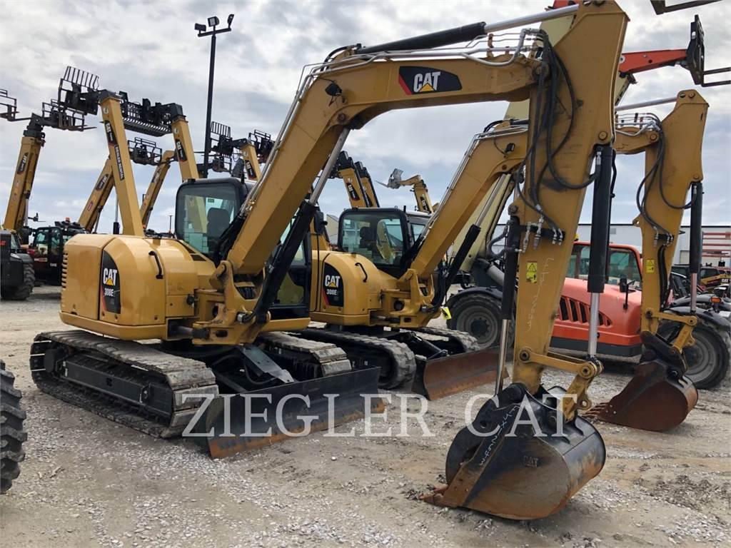 Caterpillar 308E2CRH2, Escavadoras de rastos, Equipamentos Construção