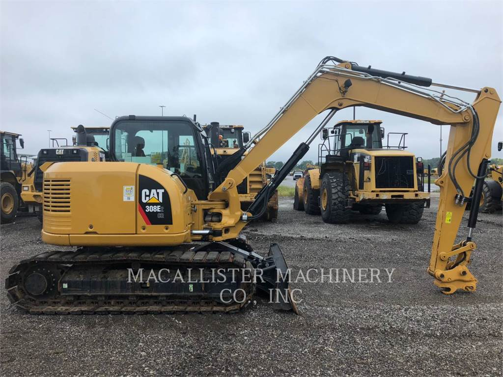 Caterpillar 308E2CRSB, Crawler Excavators, Construction