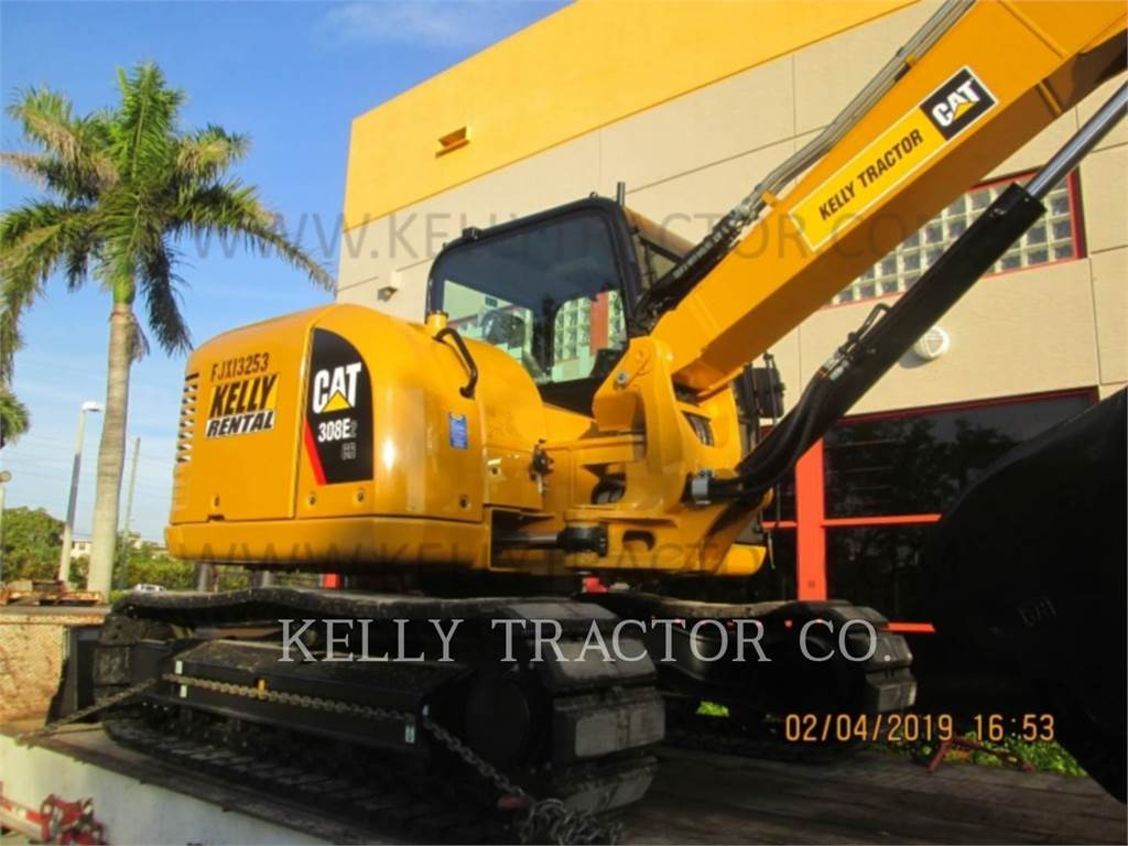 Caterpillar 308E2CRSB, Excavatoare pe senile, Constructii