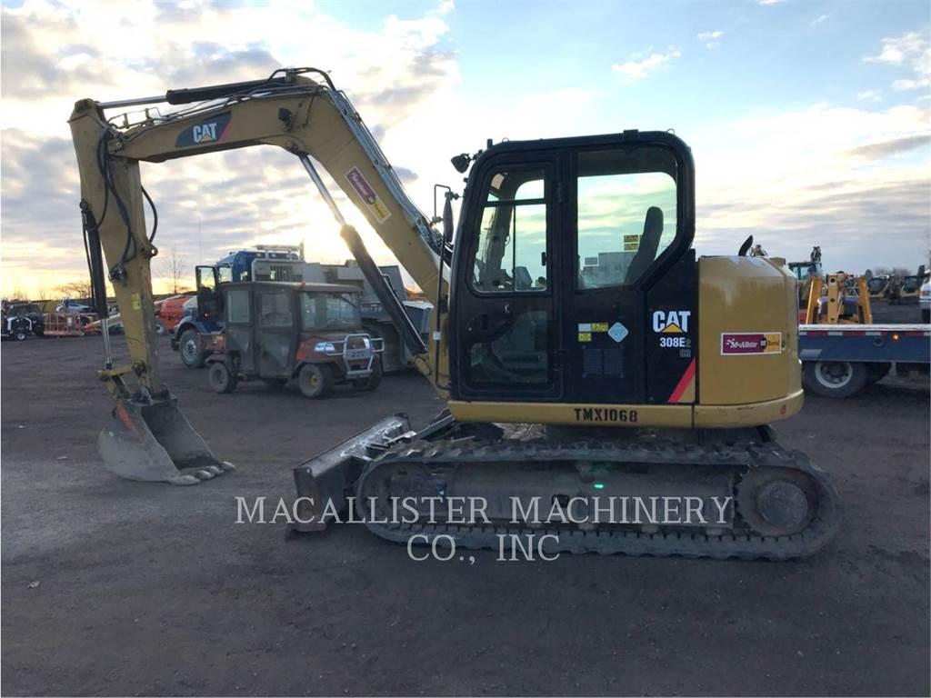 Caterpillar 308E2CRSB, Rupsgraafmachines, Bouw
