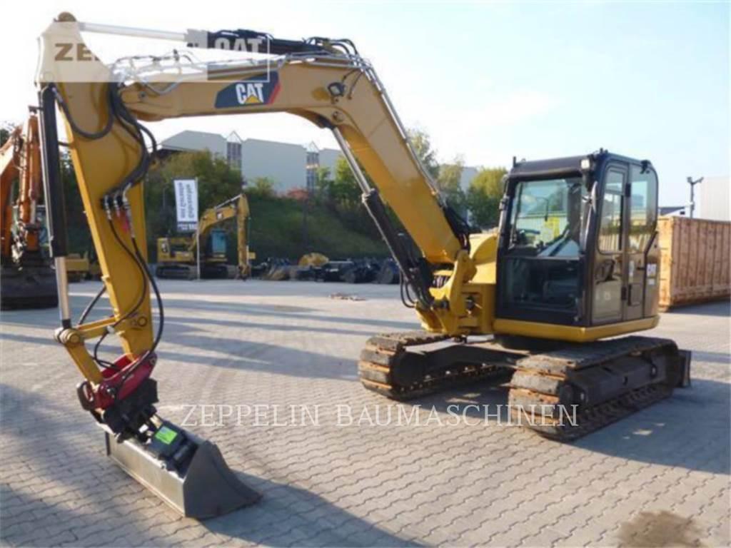 Caterpillar 308E2CRSB、クローラー式油圧ショベル(パワーショベル・ユンボ)、建設