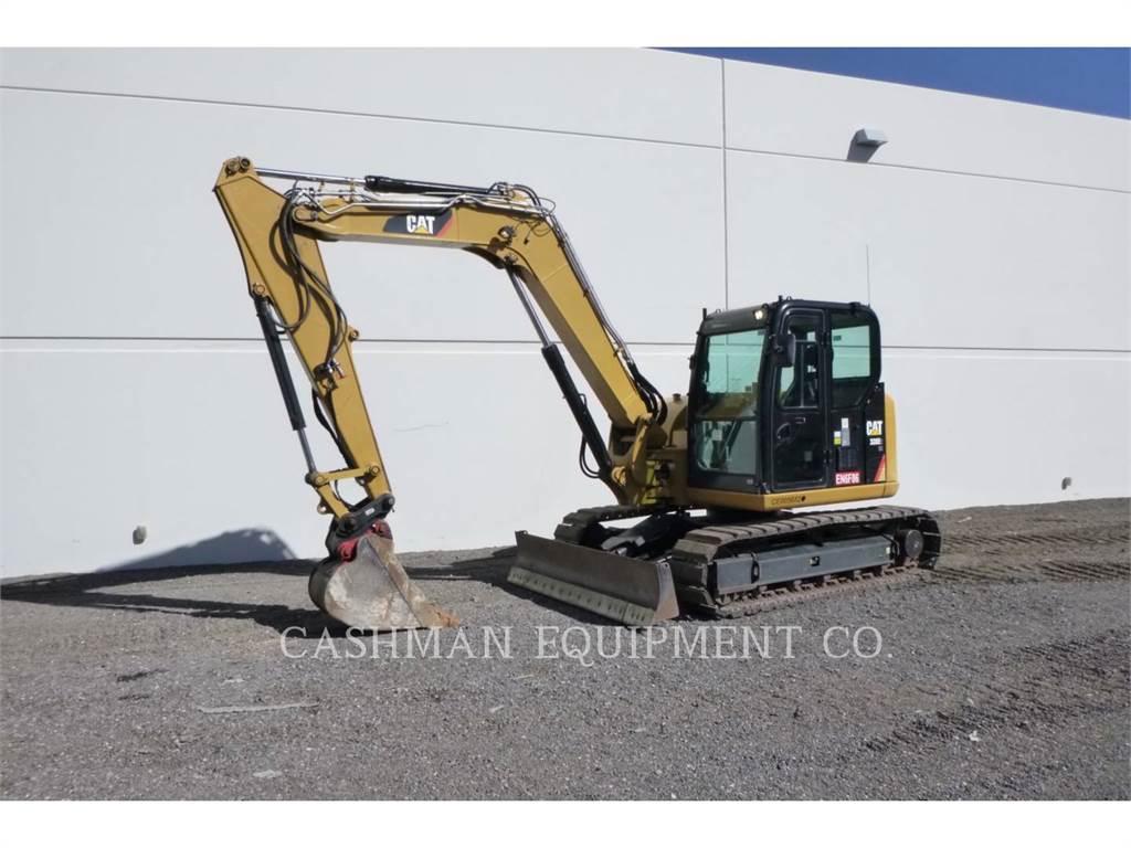 Caterpillar 308E2CRSBT, Rupsgraafmachines, Bouw