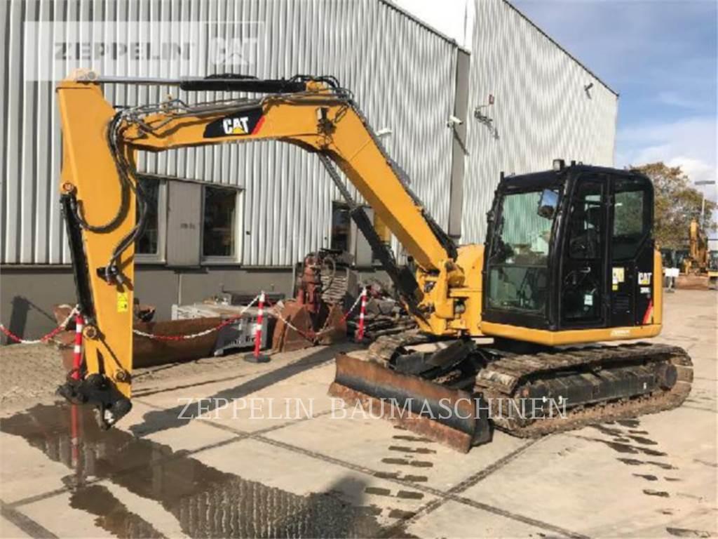 Caterpillar 308ECR, Excavatoare pe senile, Constructii
