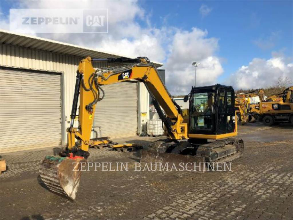 Caterpillar 308ECR, Crawler Excavators, Construction