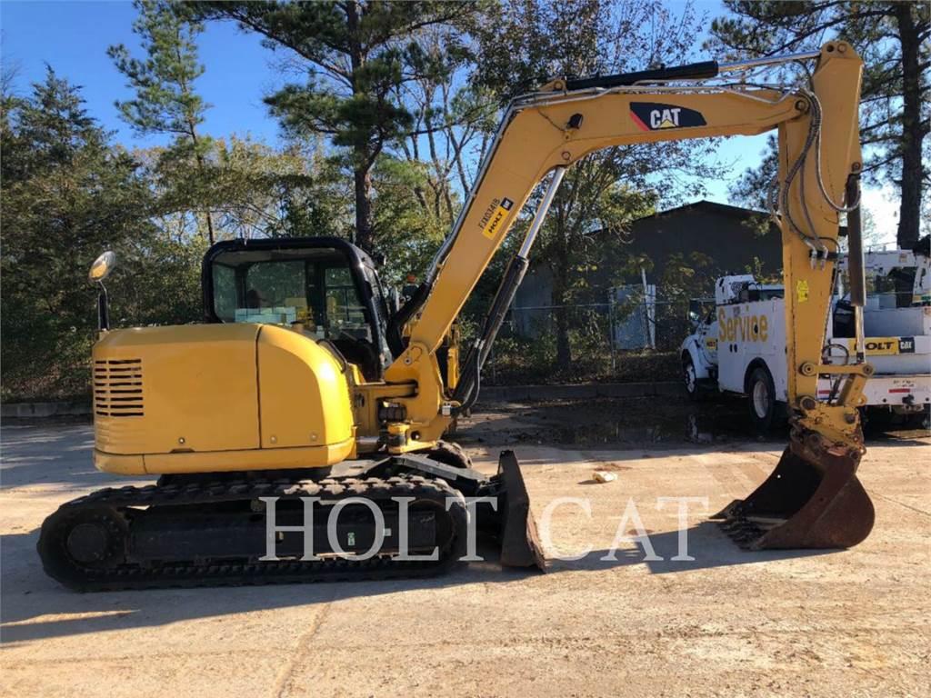Caterpillar 308ECR SBX、履带挖掘机、建筑设备