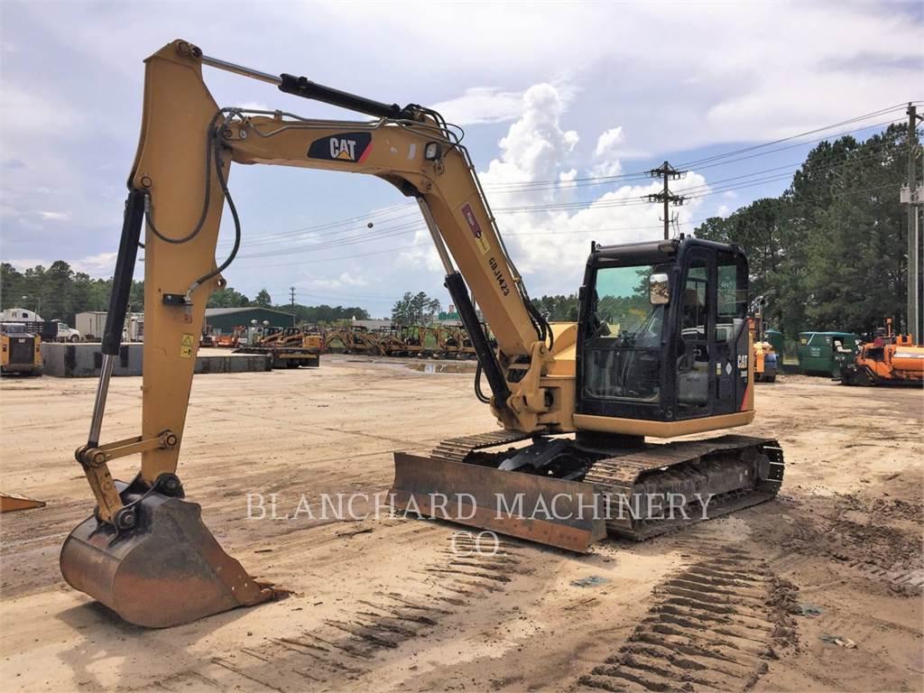 Caterpillar 308ECRSB、クローラー式油圧ショベル(パワーショベル・ユンボ)、建設